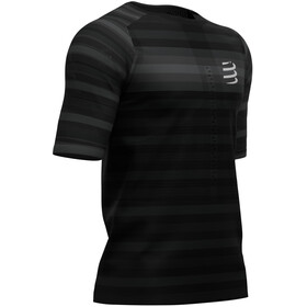 Compressport Racing T-shirt, black (stripes)